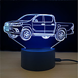 cheap -1set LED Night Light Stress and Anxiety Relief Color-Changing with USB Port Decorative Light USB Powered Touch 7-Color