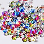 Недорогие -Кристалл разноцветный дизайн ногтей