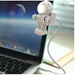 Недорогие -ywxlight® астронавт spaceman usb led регулируемый ночник для компьютера pc лампа настольный свет чистый белый dc 5v
