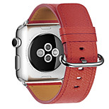 cheap -Watch Band for Apple Watch Series 3 / 2 / 1 Apple Classic Buckle Leather Wrist Strap
