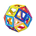 Недорогие -Магнитный конструктор Игрушки Классика трансформируемый Классика Мягкие пластиковые 20 Куски
