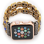 cheap -Watch Band for Apple Watch Series 3 / 2 / 1 Apple Wrist Strap Jewelry Design Metal