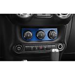 cheap -Automotive Center Stack Covers DIY Car Interiors For Jeep 2017 2016 2015 2014 2013 2012 2011 Wrangler