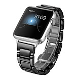 cheap -Watch Band for Apple Watch Series 3 / 2 / 1 Apple Wrist Strap Classic Buckle Ceramic