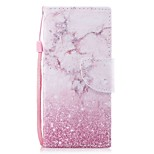 cheap -Case For Sony Xperia XZ1 Xperia XZ1 Compact Card Holder Wallet with Stand Flip Magnetic Pattern Full Body Marble Hard PU Leather for