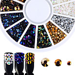 cheap -Rhinestones Nail Jewelry Nail Glitter Fashionable Jewelry Luxury Accessories Mixed Pattern Nail Art Design
