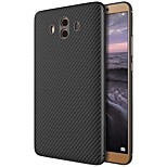 cheap -Case For Huawei Mate 10 Pattern Back Cover Lines / Waves Hard Carbon Fiber for Mate 10