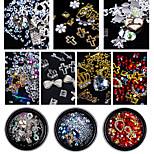 cheap -Rhinestones Nail Jewelry Nail Glitter Fashionable Jewelry Luxury Jeweled Fashion High Quality Daily Nail Art Design