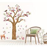 Недорогие -Абстракция Пейзаж Наклейки 3D наклейки Декоративные наклейки на стены, Бумага Украшение дома Наклейка на стену Стена