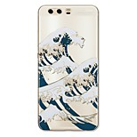 cheap -Case For Huawei P10 Plus P10 Lite Pattern Back Cover Scenery Soft TPU for P10 Plus P10 Lite P10 P9 P9 Lite P9 Plus P8 P8 Lite P7 Honor 9