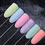 Недорогие -шестисекционный костюм блестёт блестки мешки для инструментов гвоздь блеск многоцветный
