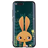 Недорогие -Кейс для Назначение Xiaomi Mi 6 Mi 5X С узором Кейс на заднюю панель Кролик Мягкий Силикон для Xiaomi Mi 6 Xiaomi Mi 5X Xiaomi A1