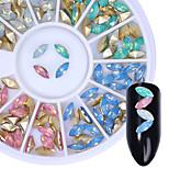 Недорогие -Фольга блеск Bling Bling Мода Высокое качество Повседневные Дизайн ногтей
