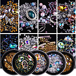 cheap -# Rhinestones Nail Jewelry Nail Glitter Jewelry Kits Fashionable Jewelry Sparkle & Shine Luxury Fashionable Design Sparkling Crystal /