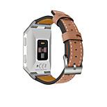 Недорогие -Ремешок для часов для Fitbit ionic Fitbit Повязка на запястье Классическая застежка Натуральная кожа