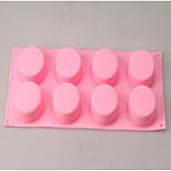 Недорогие -Формы для пирожных Прямоугольный конфеты силикагель Праздник День рождения Новый год День Благодарения
