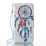 cheap -Case For Xiaomi Redmi Note 5A Redmi Note 4X Card Holder Wallet with Stand Full Body Dream Catcher Hard PU Leather for Xiaomi Redmi Note