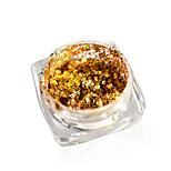 Недорогие -1 комплект Блестящие Гламур Наклейки для ногтей Гель для ногтей Порошок блеска порошок Дизайн ногтей