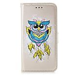 preiswerte -Hülle Für Xiaomi Redmi Note 4X Redmi 4X Kreditkartenfächer Geldbeutel mit Halterung Flipbare Hülle Muster Ganzkörper-Gehäuse Eule Hart