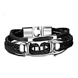 cheap -Men's Chain Bracelet , Fashion Leather Alloy Geometric Jewelry Gift Daily