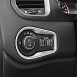 cheap -Automotive Headlight Button Covers DIY Car Interiors For Jeep Renegade