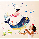 cheap -Abstract Animals Wall Stickers 3D Wall Stickers Decorative Wall Stickers,Paper Home Decoration Wall Decal Wall