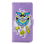 cheap -Case For Huawei P9 Lite P8 Lite (2017) Card Holder Flip Pattern Full Body Owl Hard PU Leather for Huawei P9 Lite P8 Lite (2017) Huawei P8