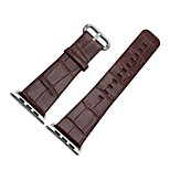 cheap -Watch Band for Apple Watch Series 2 Apple Watch Series 1 Apple Modern Buckle Genuine Leather Wrist Strap