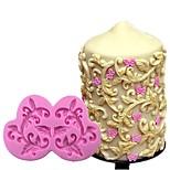 Недорогие -diy торт границы силиконовые формы цветок виноградная помада торт украшения инструменты шоколадный кекс формы для выпечки