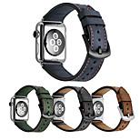 Ремешок для часов для Apple Watch Series 3 / 2 / 1 Apple Повязка на запястье Классическая застежка Натуральная кожа
