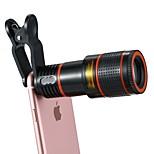 Недорогие -объектив для мобильных телефонов объектив с длинным фокусным расстоянием оптическое стекло 12x macro 3 30 zoomable