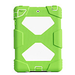 cheap -Case For Apple Shockproof Water/Dirt/Shock Proof with Stand Full Body Cases Solid Color Hard Silicone for