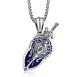 Недорогие -Муж. , На каждый день Мода Ожерелья с подвесками , Титан Сталь Ожерелья с подвесками , Другое Повседневные