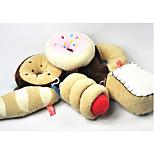Недорогие -Собака Игрушки для животных Жевательные игрушки Скрип Хлопковая ткань Для домашних животных