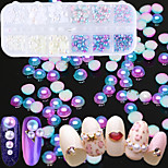 cheap -Pearls Nail Jewelry Nail Glitter Fashionable Jewelry Luxury Jeweled Mixed Pattern Nail Art Design