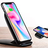 cheap -Dock Charger Wireless Charger Phone USB Charger USB Wireless Charger Qi 1 USB Port 2A DC 9V iPhone X iPhone 8 Plus iPhone 8 S8 S7 Active
