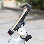 cheap -Bike Mobile Phone mount stand holder Adjustable Stand Universal Buckle Type ABS Holder