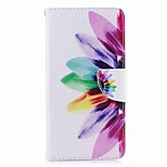 cheap -Case For Huawei P8 Lite (2017) Mate 10 Card Holder Wallet with Stand Flip Pattern Full Body Flower Hard PU Leather for P10 Plus P10 Lite