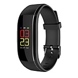 cheap -Smart Watch Bluetooth Water Resistant Calories Burned Touch Sensor APP Control Pulse Tracker Pedometer Activity Tracker Sleep Tracker