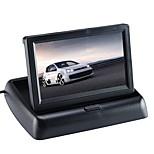 Недорогие -ziqiao® автомобильный монитор 4,3-дюймовый дисплей для камеры заднего вида складной цвет tft lcd hd экран для заднего хода автомобиля