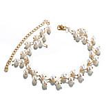 cheap -Women's , Formal Fashion Korean Choker Necklace Imitation Pearl Imitation Pearl Alloy Choker Necklace , Wedding Party