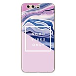 cheap -Case For Huawei P10 Plus P10 Lite Pattern Back Cover Marble Soft TPU for P10 Plus P10 Lite P10 P9 P9 Lite P9 Plus P8 P8 Lite P7 Honor 9