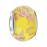 Недорогие -Ювелирные изделия DIY 1 штук Бусины Цветная глазурь Сплав Желтый Синий Светло-Розовый Круглый Шарик 0.5 cm DIY Ожерелье Браслеты