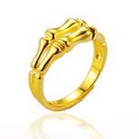 Недорогие -Муж. Жен. манжета кольцо , Хип-хоп Готика Позолота Бижутерия Halloween Для улицы