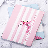 cheap -Case For Apple iPad Air 2 Wallet Shockproof Auto Sleep/Wake Up Full Body Cases Cartoon Hard PU Leather for
