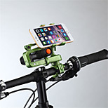 cheap -Bike Mobile Phone mount stand holder Adjustable Stand 360° Rotation Mobile Phone Buckle Type Slip Resistant Polycarbonate Holder