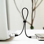 Недорогие -USB2.0 Type-C Адаптер USB-кабеля Компактность Быстрая зарядка Назначение Samsung Huawei LG Nokia Lenovo Motorola Xiaomi HTC Sony 120 cm