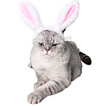 cheap -Cat Dog Ornaments Dog Clothes Animals Headpieces Adorable Color Block Pink Costume For Pets