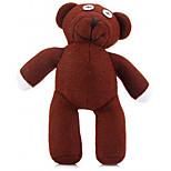 Недорогие -симпатичный 22cm mr bean плюшевый мишка плюшевый кукла маленький фаршированный игрушка подарок на день рождения коричневый