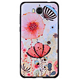 cheap -Case For Huawei Y6 (2017)(Nova Young) Y5 III(Y5 2017) Pattern Back Cover Flower Soft Silicone for Huawei Y6 (2017)(Nova Young) Huawei Y5